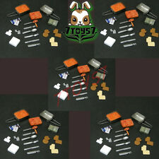 Custom 1/6 Armoury Ration_ Mess Kit Set x 5 _food military  CS048C