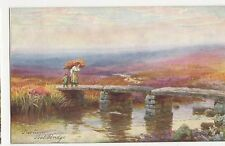 H.B. Wimbush, Dartmoor, Post Bridge Tuck 7074 Postcard, A788