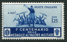 ITALY - # 338 F-VF Heavy Hinged Issue - ACCLAIMING SERVICE MILITARY - S5560