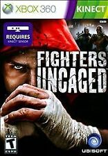 FIGHTERS UNCAGED XBOX 360 KINECT! FIGHT NIGHT, BRUTAL ATTACKS, STREET CHAMPION