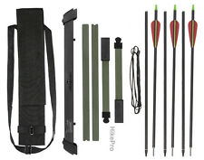 Super Compact the Break - Take Down Survival Bow with Arrows & carry pouch Kit