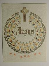 Print Gothic Calligraphy Scripture Bible Jesus This is my Beloved Son In Whom I