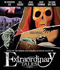 Extraordinary Tales - Blu ray Christopher Lee, Bela Lugosi, Roger Corman PERFECT
