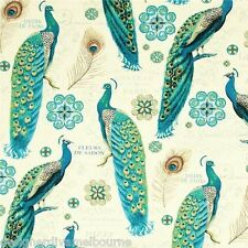 Majestic Beauties - Peacock - By Daphne B. - Wilmington Prints., f/q or yard