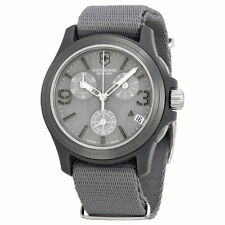 Victorinox Swiss Army Original Chronograph Gray Dial Men's Watch - 241532 NWT