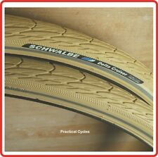 "Schwalbe Delta Cruiser Tyre CREAM 28x 1 1/2""  town bike RETRO DUTCH BIKE"
