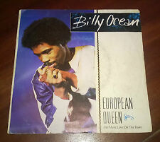 "Billy Ocean 45 Giri "" EUROPEAN QUEEN "" Jive"