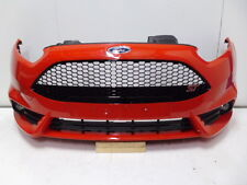 GENUINE FORD FIESTA ST FRONT BUMPER IN RACE RED 2013 2014 2015 2016 - 2017