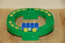 Lego Duplo Mono Rail Set Green Track Blue Monorail Rail