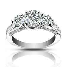 2.25 ct Ladies One Of A Kind Diamond Engagement Ring F Color VS-2 Clarity