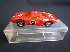 AB463 JOUEF RARE FORD GT ROUGE SLOT CAR CIRCUIT 1/40  Ref 3650 BON ETAT