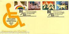 1981 handicapés-Exeter sclérose en plaques officiel