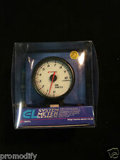 60mm Oil Pressure Gauge apexi style like defi back LED ap1 ap2 supra s13 s14 HKS
