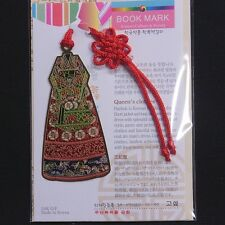 Korea Culture Beauty Bookmark Queen Clothes HanBok FreeShipping