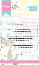 Marianne Design TEXTURE Clear Rubber Stamps  GRID MM1604