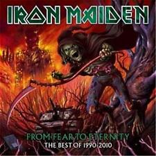 IRON MAIDEN FROM FEAR TO ETERNITY THE BEST OF 1990-2010 2 CD NEW