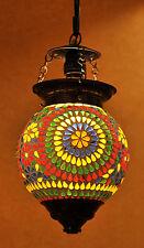 VINTAGE COUNTRY soffitto di vetro Lampada NATALE PUNTO LUCE CIONDOLO PENDENTE Lampada