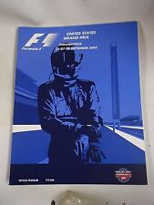 Formula ONE US Grand Prix 2003 Daytona Program and Newspaper, Racing History!