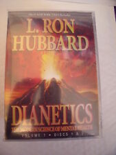 DIANETICS: MODERN SCIENCE OF MENTAL HEALTH by L.Ron Hubbard ( 16 CD, Audio Book)