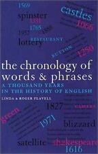 The Chronology of Words and Phrases : A Thousand Years in the History of...