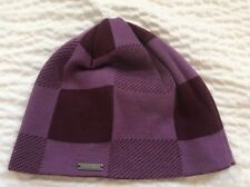 NEW BILLABONG KNIT BEANIE HAT Mauve And Burgundy NWOT