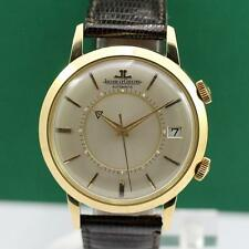 JAEGER LECOULTRE E855 MEMOVOX 18K SOLID YELLOW GOLD AUTOMATIC MEN'S WATCH
