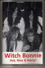 WITCH BONNIE: HOT NICE & NASTY CASSETTE HARD ROCK HAIR METAL DEMO