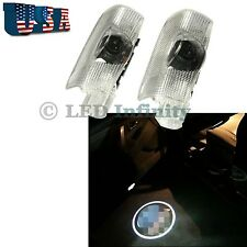 2pcs Cool Logo Stylish Car Door Step Courtesy Welcome LED Light For Toyota #CT7