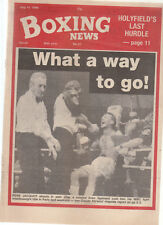 Vintage Boxing News, July 89, Holyfields last Hurdle