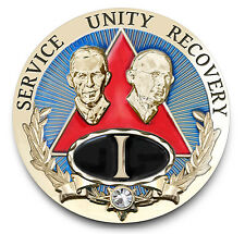Bill & Bob REGAL AA Anniversary Recovery Coin/Medallion Years 1-15,20,25,30,35