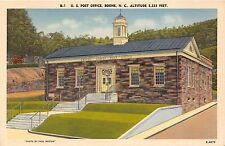 BOONE NORTH CAROLINA UNITED STATES POST OFFICE PAUL WESTON PHOTO POSTCARD c1940s