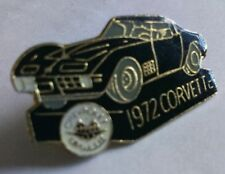 1972 Corvette enamel pin badge classic car vintage - Rare