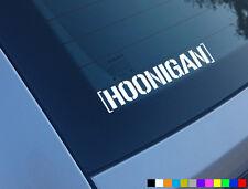Hoonigan Auto Adhesivo Ken Block Funny Hoon hooning Fiesta Euro Jdm Jap Drift Vag