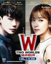 DVD Korean Drama Series W - TWO WORLDS 两个世界 (1-16 End) English Subtitle
