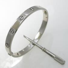 Authentic Cartier Love bracelet  #260-001-850-4316