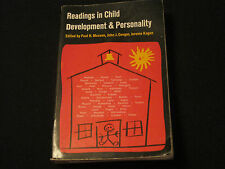 Readings in Child Development and Personality (1965, paperback) Mussen jk8