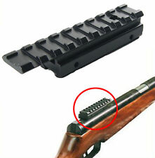 11mm Dovetail to 20mm Weaver Riser Rail scope Mount base Adapter hunting New
