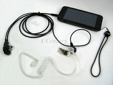 3.5mm FBI Covert Acoustic Tube Headset/Earpiece For Blackberry Smartphone iPhone