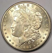 1887-S Morgan Silver Dollar $1 - Rare Date - Excellent Condition - Nice Luster!