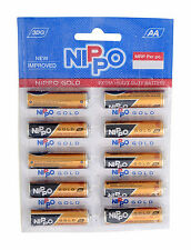 Nippo Gold 1.5v AA 50 Batteries Extra Heavy Duty Battery Leak Proof Long Life