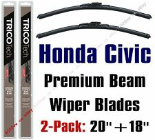 1996-2002 Honda Civic Wipers 2-Pack Premium Beam Blade Wiper Blades 19200/19180