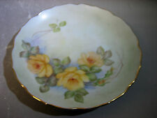 Vintage hand painted decorative plate