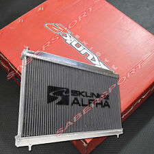 """IN STOCK"" SKUNK2 ALPHA DUAL CORE ALUMINUM RADIATOR 2006-2011 HONDA CIVIC Si"