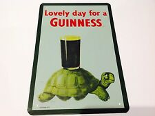 Guinness birra irlandese in metallo Poster Bar Pub Taverna Man Grotta PIC Sign Tin Placca