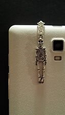 Skeleton Dangle Charm For Mobile Phone. Tablet. Ipad. Iphone. Dust Plug.