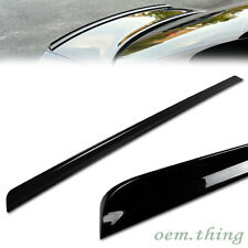 Painted BMW E46 3-Series Convertible Rear Trunk Lip Spoiler 2005 325ci #475