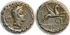REPUBLIQUE ROMAINE PAPIA Denier serratus  L. PAPI -79 ROME RCV 311