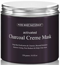 Activated Charcoal Face Mask, Charcoal Facial Mask Treatment Mud Mask - Improved