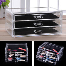 24 x 13.5 x 11 cm Large Acrylic Storage Drawer Makeup Storage Jewelry Box Gift