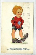 (Gt151-428) Nora Davidson Comic, Child in Poverty Clothes 1949 Used G-VG